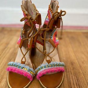 Charlotte Russe colorful heels